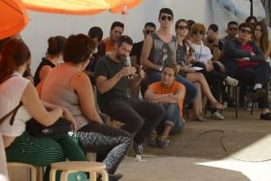 Conversaciones en Festival Sitio