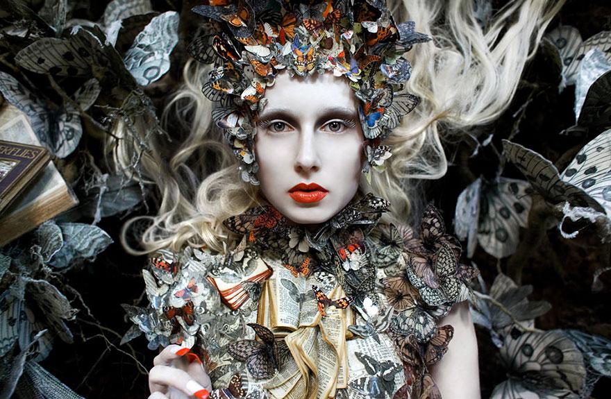 Kirsty Mitchell Conceptual Portrait Wonderland