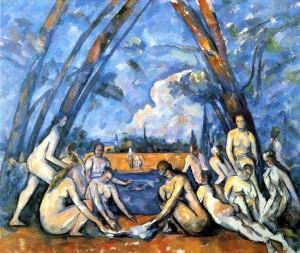 Cezanne - Bathers