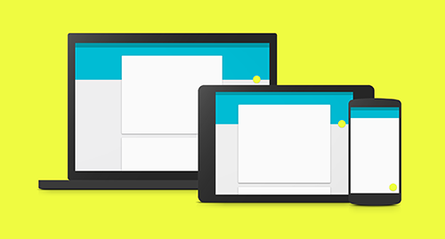 Material design - <em>layouts</em> en diferentes dispositivos