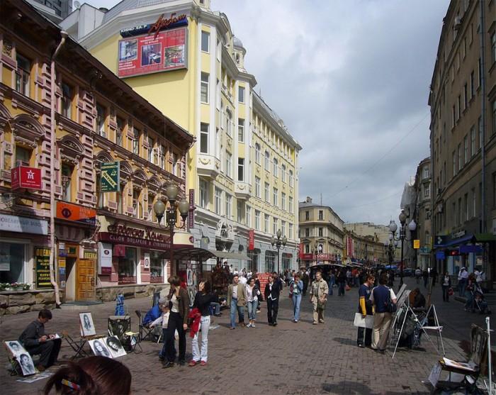 La calle Arbat