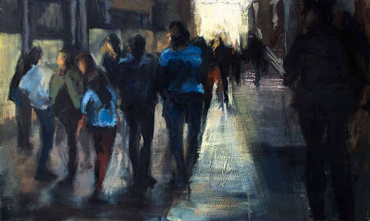 Pintura de Nadia_Devonish artista The lighting mind