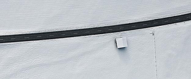 Bernhard Lang fotografía aérea paisaje