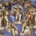Fragmento de El juicio final de Miguel Ángel