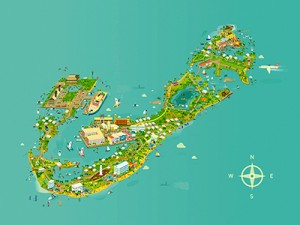 Adam Quest, Bermuda Map