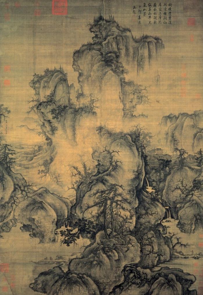 """""""Comienzos de la primavera"""", Guo Xi."""