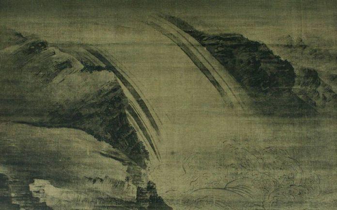 """""""La cascada"""" de Wang Wei"""