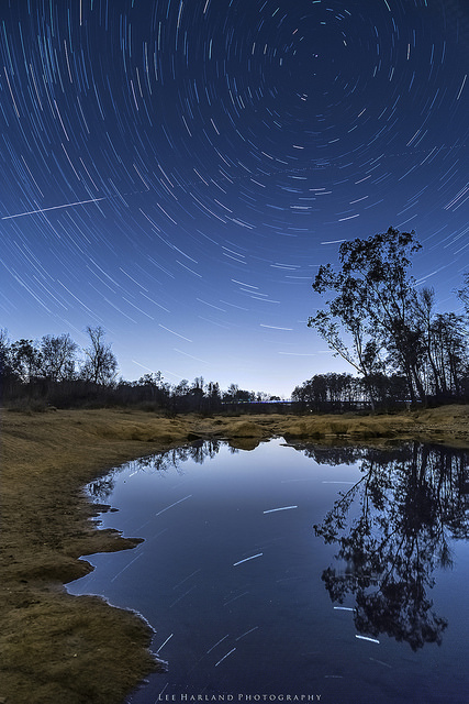 Lee Harland, Star Trail Reflection