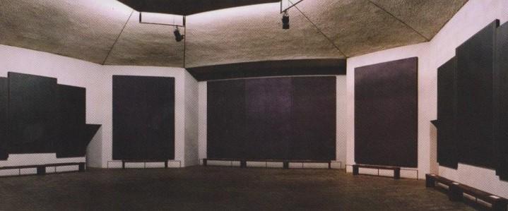 Sección Norte Capilla Rothko