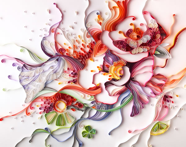 Yulia Brodskaya, papergraphics