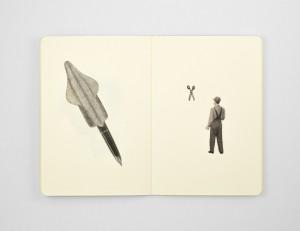 Parejas, cuadernos de collage_01
