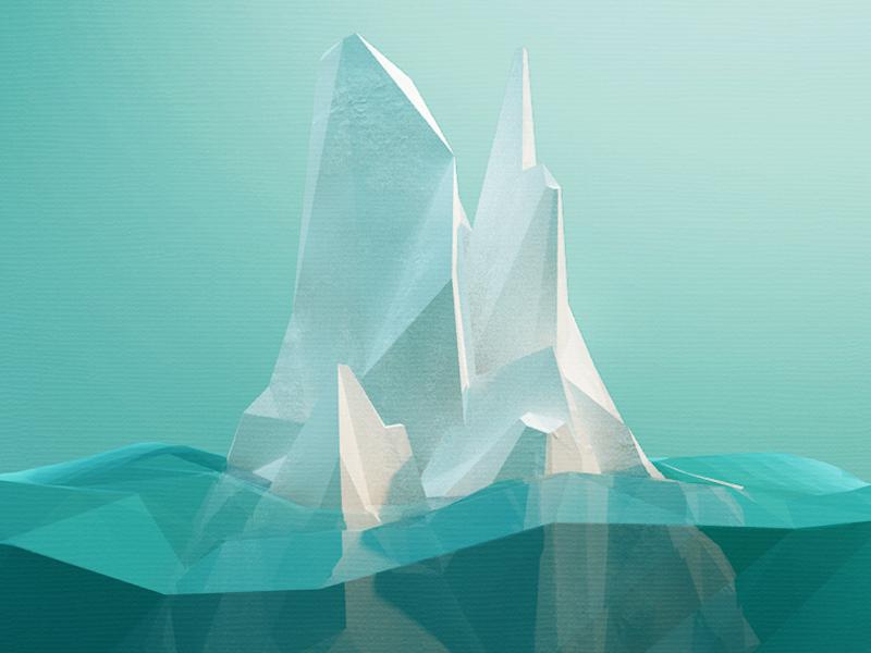 Runar Finanger, Low-Poly Iceberg