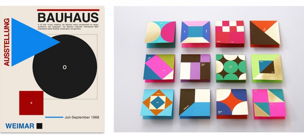 Weimar, Bauhaus Archiv Ken Lo, proyecto Astrobrights Thank You Card