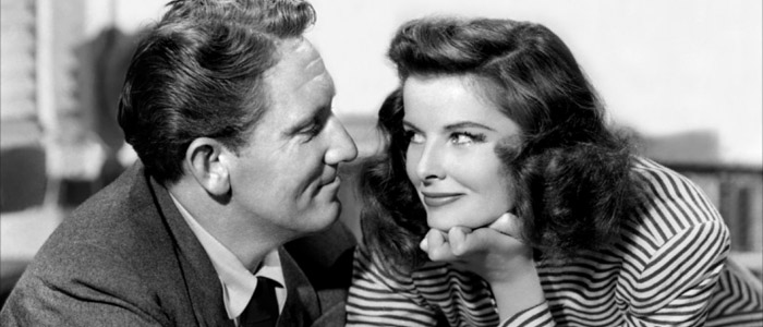 Katharine Hepburn y Spencer Tracy