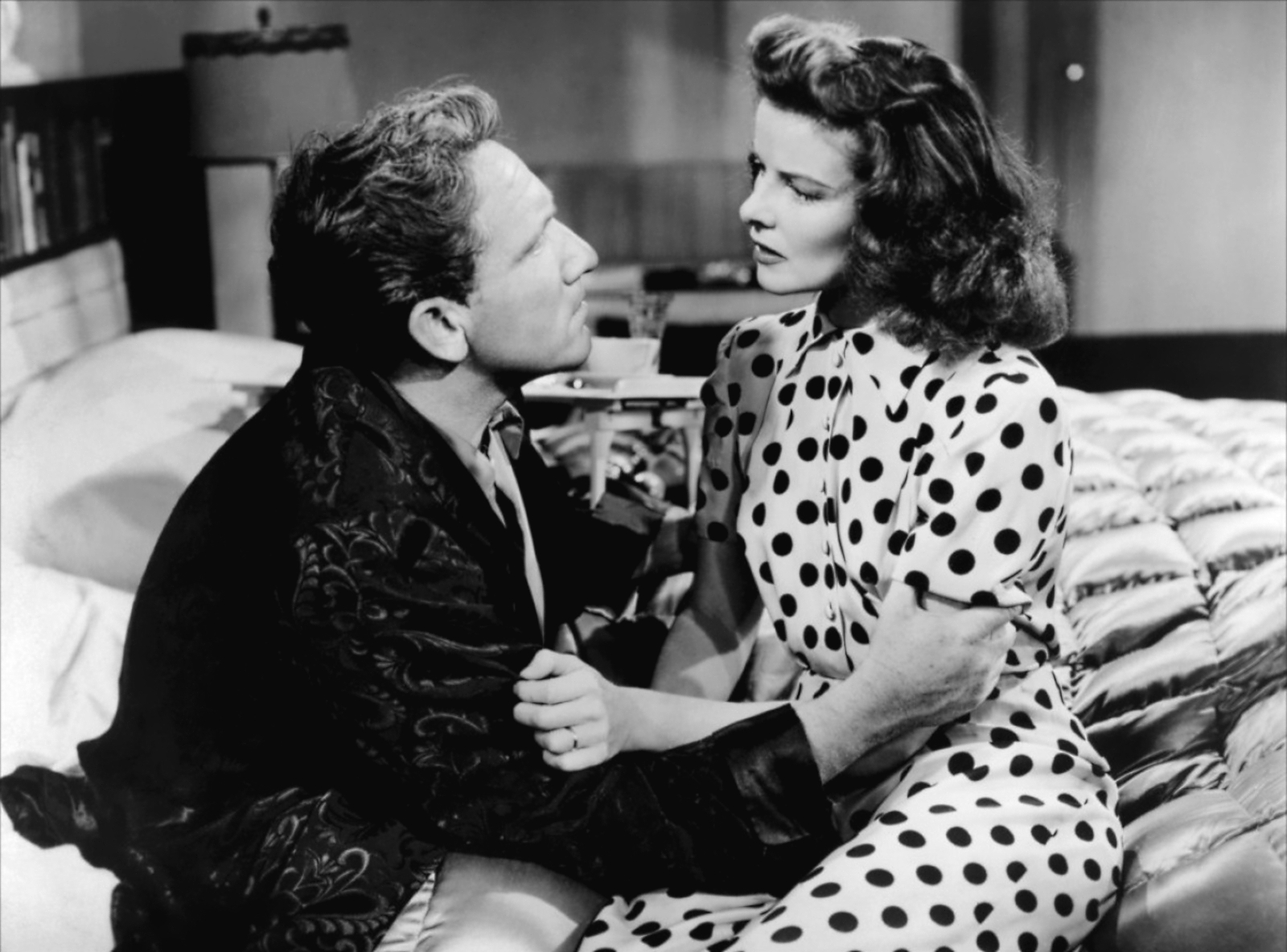Katherine Hepburn y Spencer Tracy