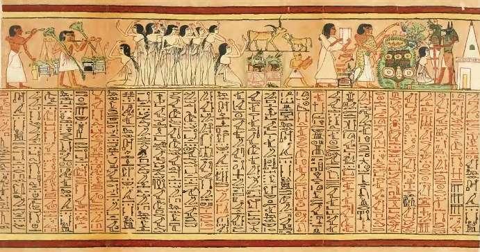 Papiro de Ani, Dinastía XIX.