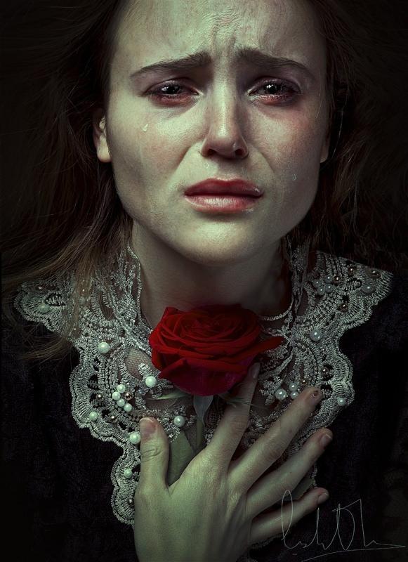 Cristina Otero Autorretrato