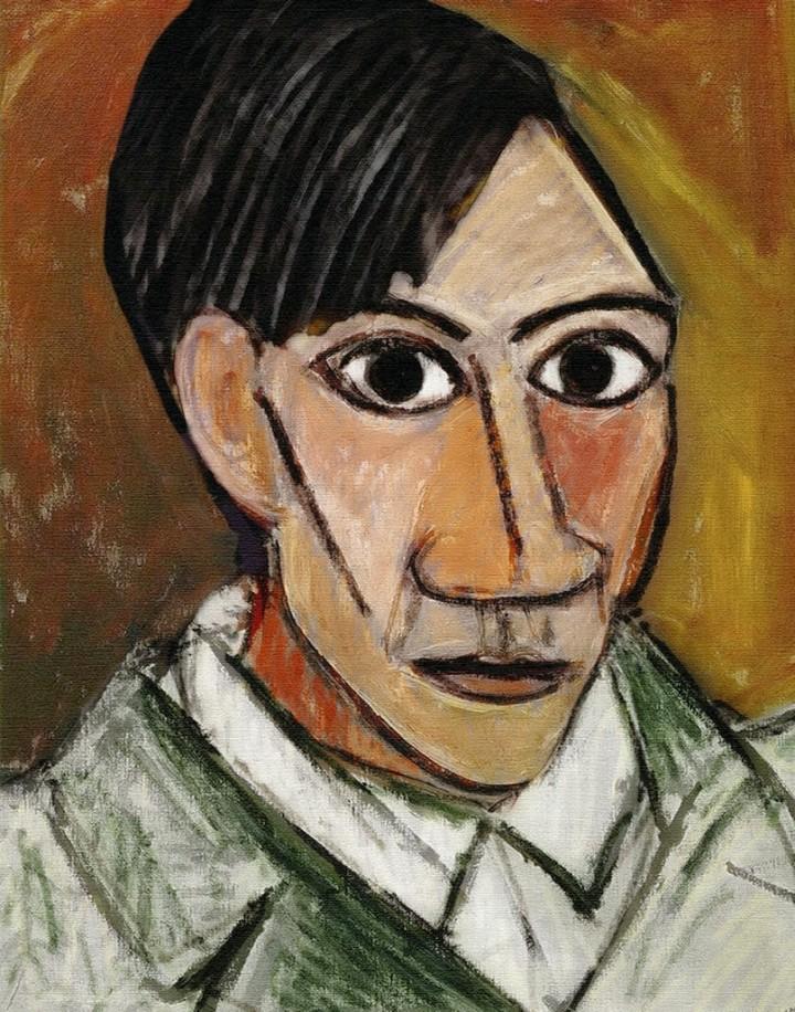 Autorretrato de Picasso, principios del s.XX