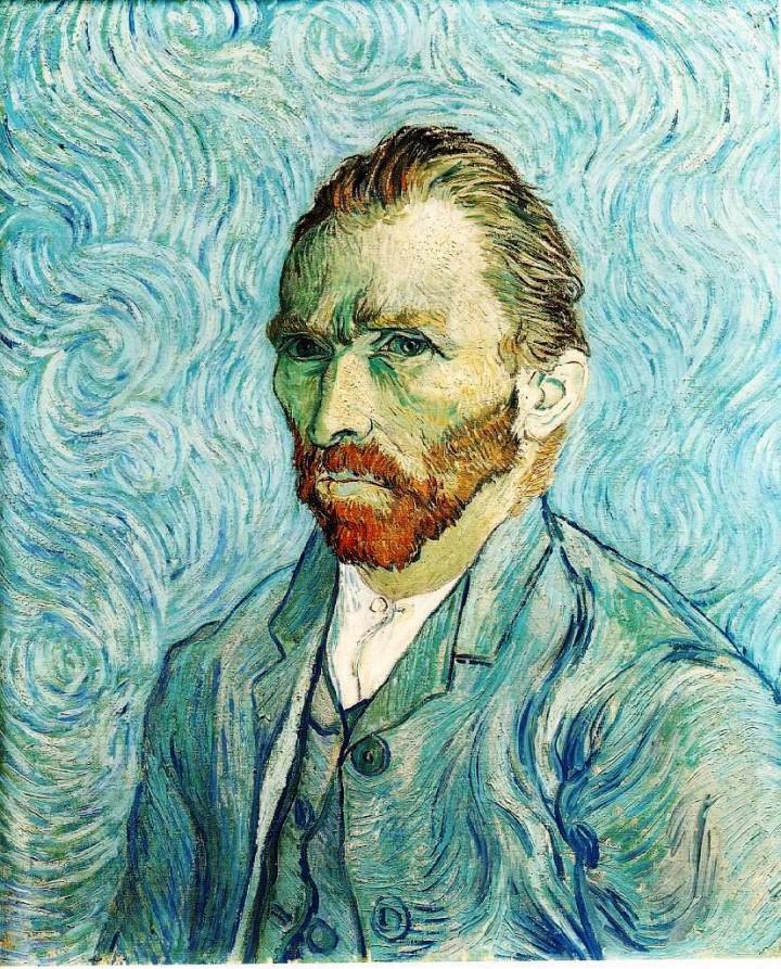 Autorretrato de Van Gogh, ól/lz. Museo de Orsay