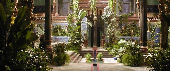 Los jardines colgantes de babilonia for Los jardines de lola