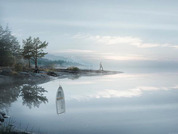 obra del fotógrafo Erik Johansson