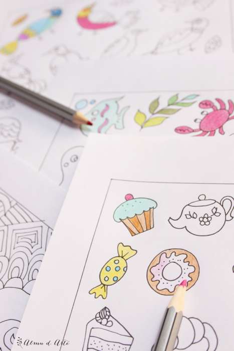 Dibujos para colorear para adultos