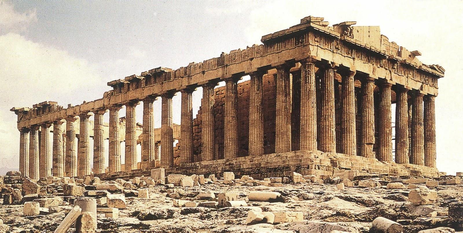 Templo de Atenea Partenos.