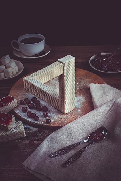 Fotografía Dina Belenko, Penrose Waffles