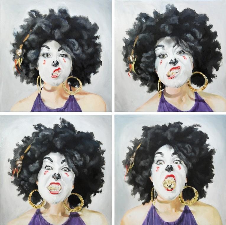 Serie Clowns