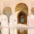 """Joaquín Sorolla, """"Sala de Embajadores"""", 1909."""