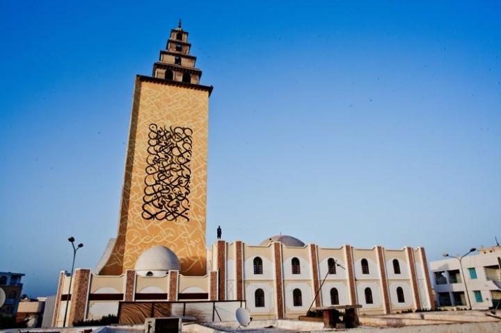 Mezquita de Jara de Gabés. Fuente: Web de eL Seed