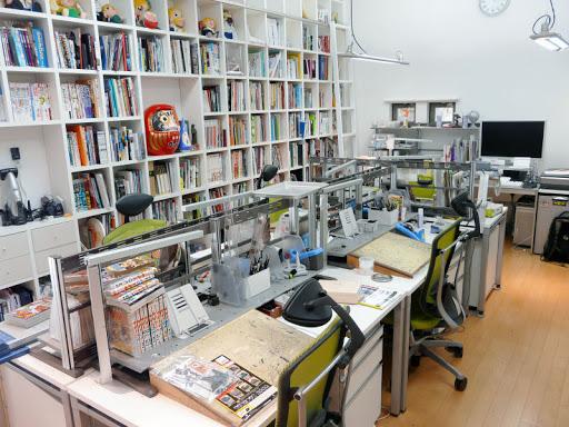 Estudio de un mangaka - cuvix.blogspot.com ©
