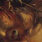 Detalle de 'La Crucifixión' de Matthias Grünewald, c. 1512.