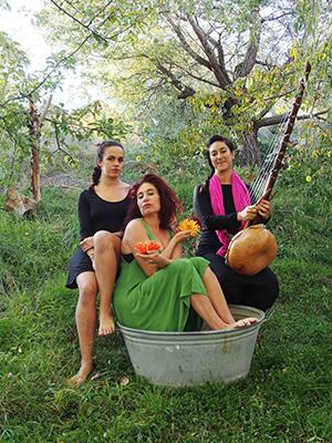 © Lidia Loffé. Raquel Fonfría, Isa Liptay y Laura Castiel.