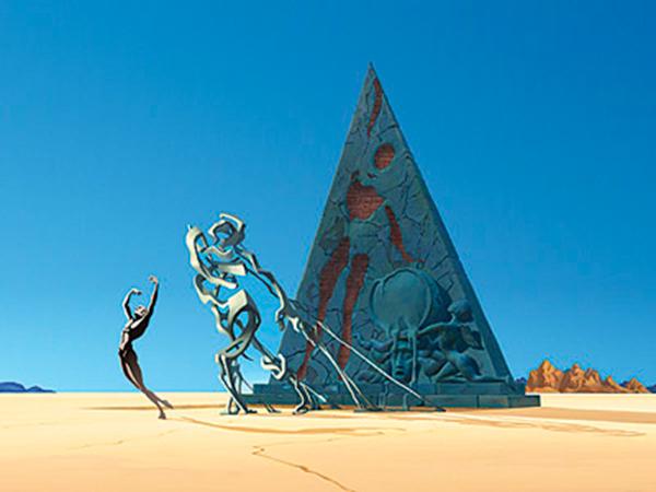 Cortometraje Destino Salvador Dalí Walt disney