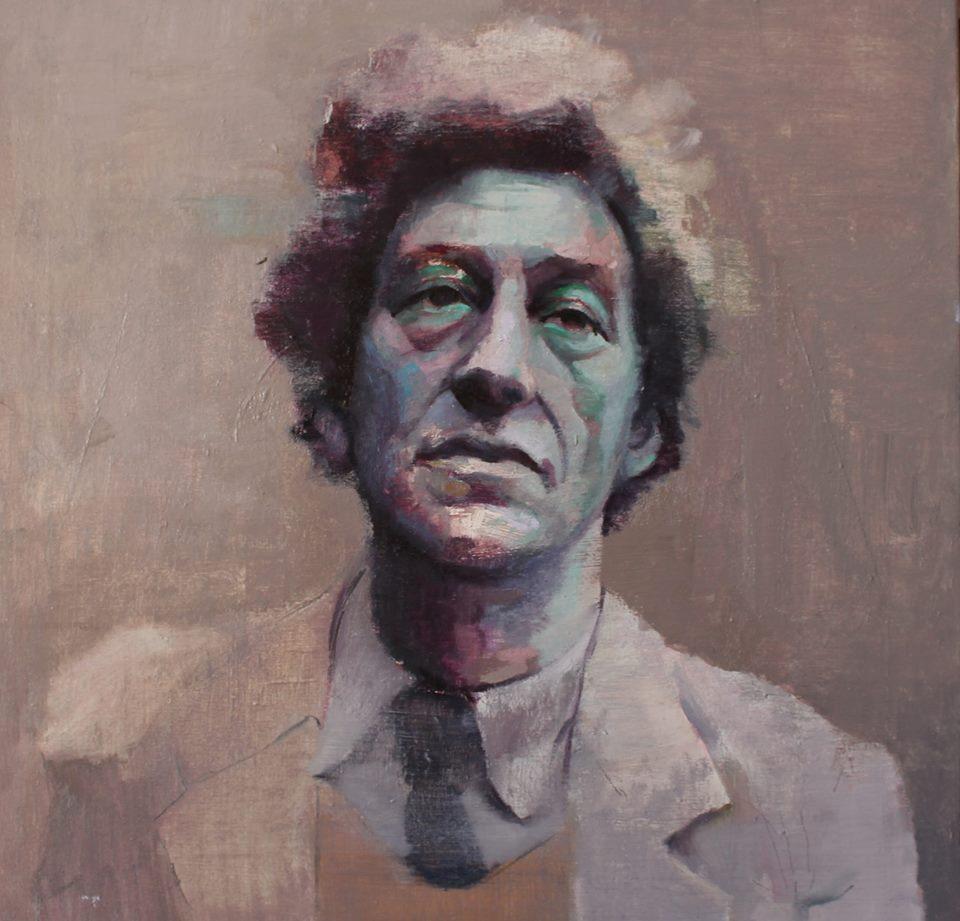 Alberto Giacometti 2_oleo sobre lino_50x50_2015