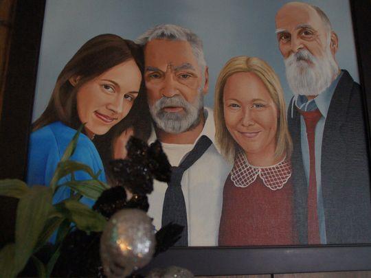 charles manson portrait