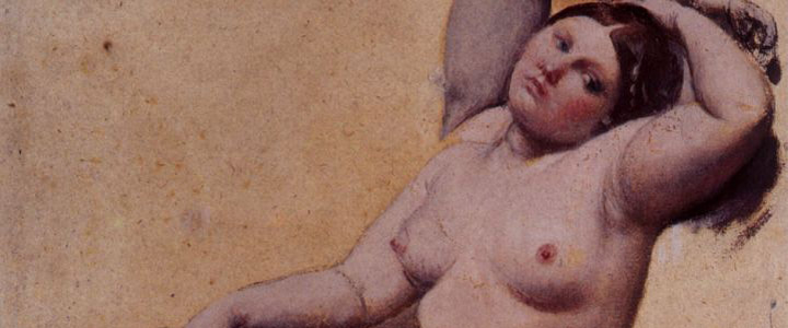 pintura Estudio para el baño turco, Ingres