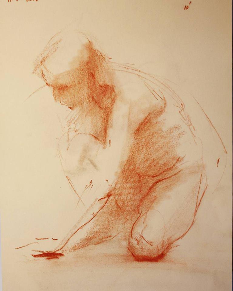 dibujo alnatural_sanguina sobre papel_A4_2016