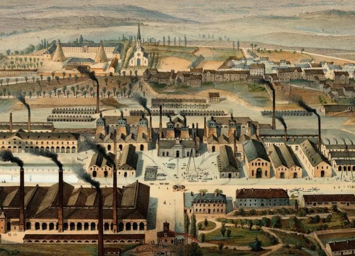 Le Creusot, 1847