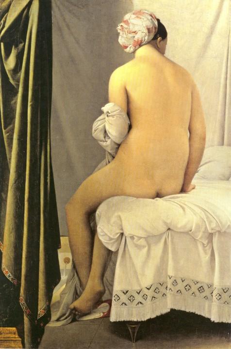 la bañista de Valpinçon