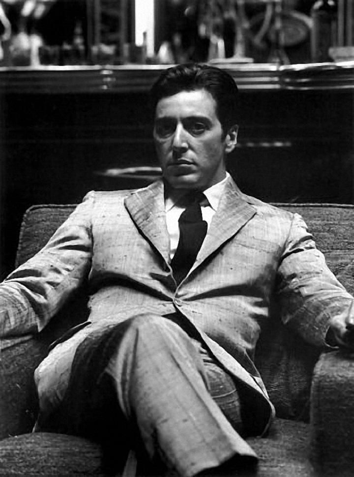 El hombre de negocios.