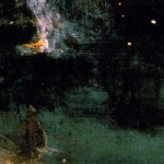 El cohete cayendo, Whistler 1885