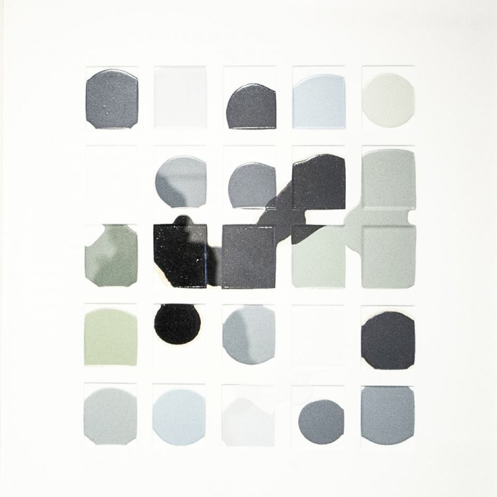 Bruno Ollé Ensayo error 2016 59x64cm Esmalte Galería L&B