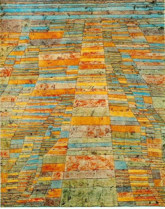 Carretera, P. Klee 1930