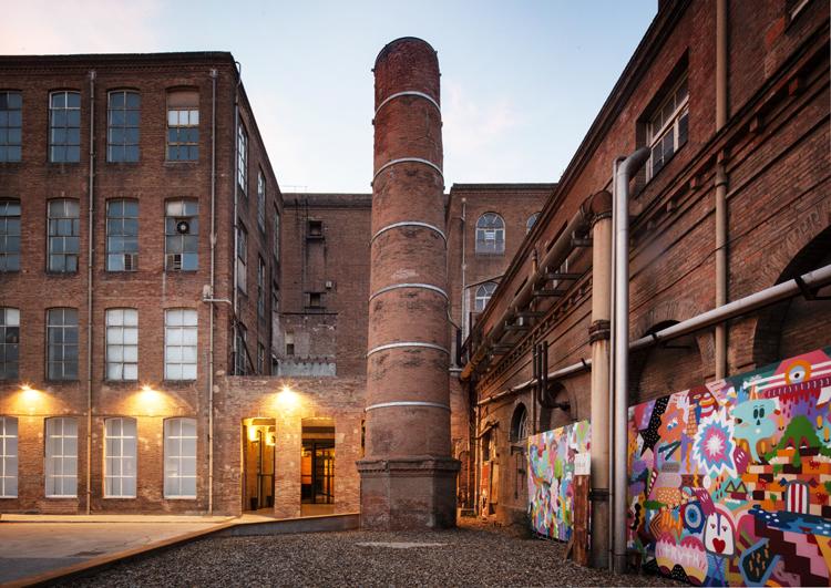 Fábrica Fabra i Coats en Barcelona