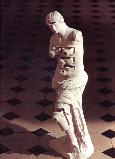 Dalí Venus de Milo