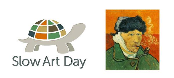 Slow Art day logo - Richard Kramer