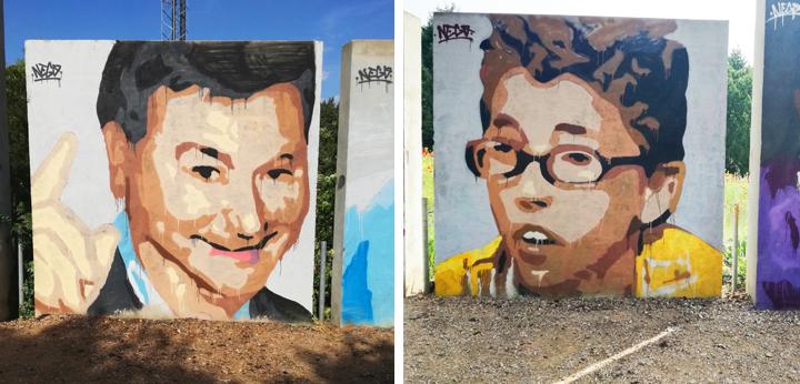 graffiti, Nego, frikismo, street art, urban art