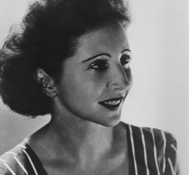La escritora y pionera Anaïs Nin